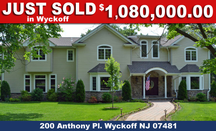Just Sold in Wyckoff